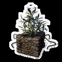 Decorative Planter (Frost Lotus)