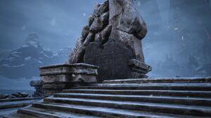 Giant-king Lorestone about Bridge of the Betrayer.jpg