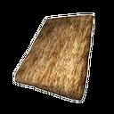 茅草斜式屋顶