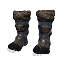 Hyena-fur Boots
