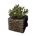 Decorative Planter (Desert Bush)