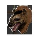 Hyena Head Trophy