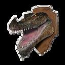 Crocodile Head Trophy