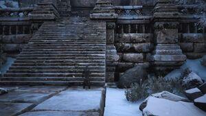 Lemurian Lorestone at Ruins of Xullan (Obelisks entrance).jpg