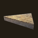 Hay-Covered Stable Ceiling Wedge