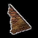 R砂岩右斜墙