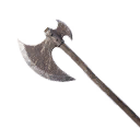Exceptional Two-Handed Iron Great Axe
