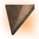 Turanian Inverted Sloped Roof Corner