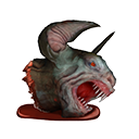 Bat Demon Head