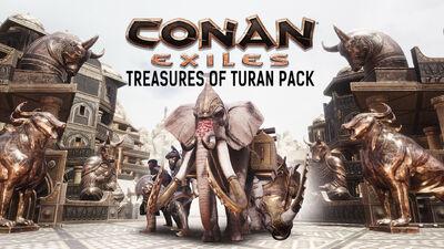 Treasures of Turan Pack DLC key art