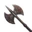 Icon 1h axe undead cimmerian battleaxe ornamented steel.png