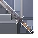 極佳的雙手鐵劍