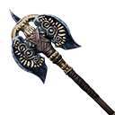Exceptional Serpent-man War-Axe