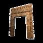 Encadrement de portail en briques