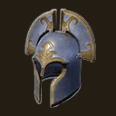 Exceptional Poitain Campaign Helm