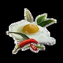 加了香料的蛋
