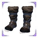 Exceptional Hyena-fur Boots