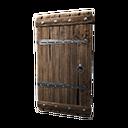 Insulated Wooden Door