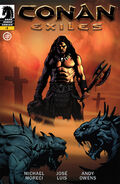 Conan Exiles Dark Horse Comics digital comic book cover