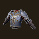 Exceptional Poitain Cavalier Chestplate