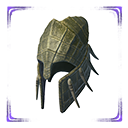 Exceptional Reptilian Helm