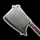 坚固的钢制切肉刀