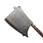 Hardened Steel Cleaver