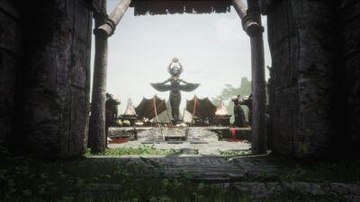 The Pagoda Entrance