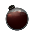 Icon dying vial dark red dye.png