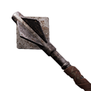 Exceptional Flanged Iron Mace