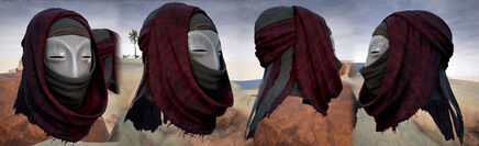 A Rebreather Mask which will allow you to evade the Sandstorm.