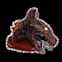 Untote Hyäne-Kopf