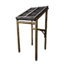 Black Ice-Reinforced Awning
