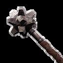 Flawless Studded Iron Mace