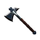 Flawless Star Metal Throwing Axe