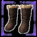 西米里亚毛皮靴子