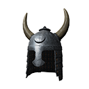 Horned Heavy Plated Helmet
