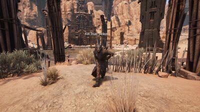 Kol True-Strike at spawnpoint in The Den
