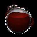 Coagulated Red Dye