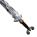 Black Ice Broadsword