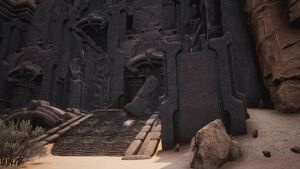Giant-king Lorestone about The Arena (the Entrance).jpg