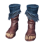 Icon human male exile light cloth boots Asura.png