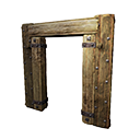 Insulated Wooden Doorframe
