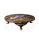 Round Stygian Table