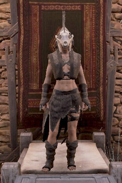 Hyena fur armor front female.jpg