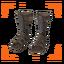 Epic Red Sonja Footwraps