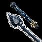 Flèche en métal stellaire