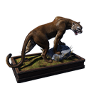 Taxidermied Mountain Lion