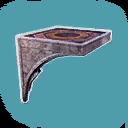 Argossean Vaulted Ceiling Inverted Corner (single)