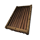 Wooden Sloped Roof